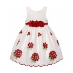 American Princess Holiday Red A-Line Dress
