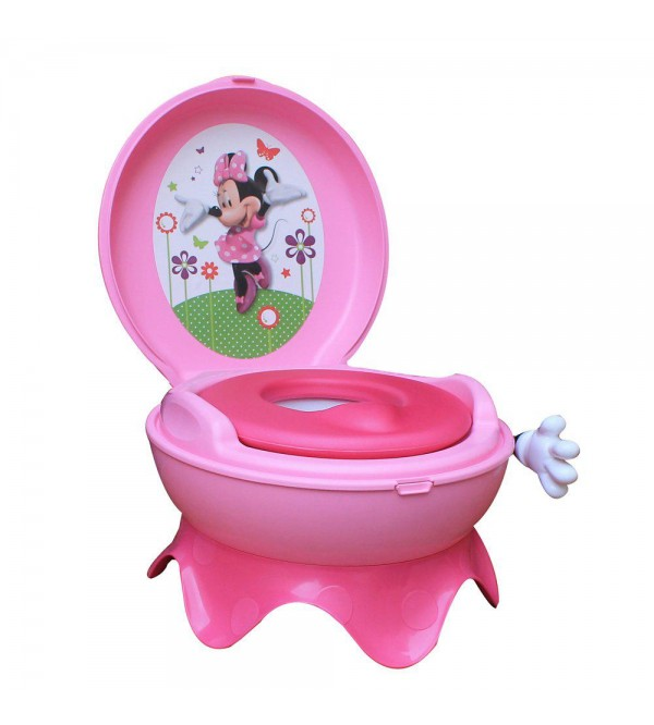 The First Years Disney Minnie Mouse 3-In-1  Celebration Potty System