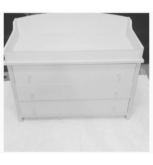 Kiddies Treasures Baby Chest Of Drawers With Changing Top