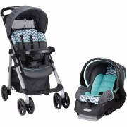 Evenflo Vive Travel System with Embrace - Spearmint Spree