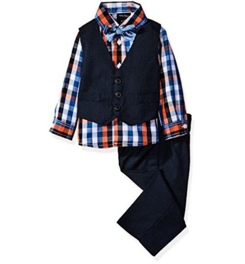 Nautica Baby Boy's  4 Piece Suit Set
