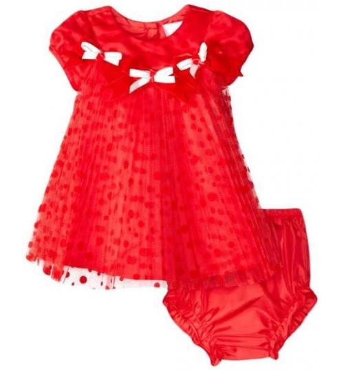 Rare Editions Baby Girls Infant Pleated Dress