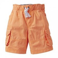 Carter's Boys' Pull-On Cargo Short Orange