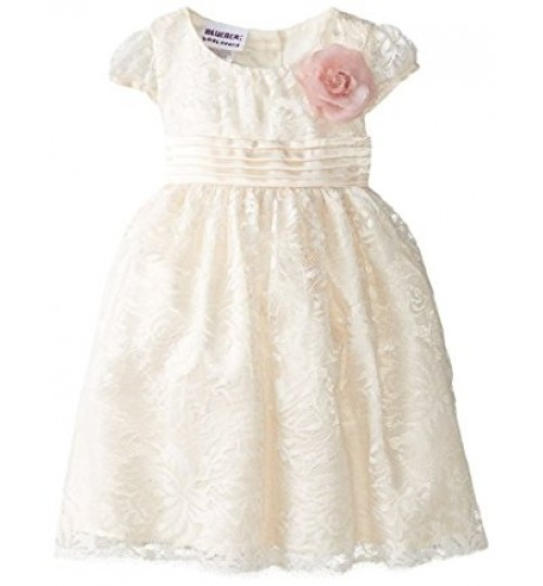Blueberi Boulevard Baby Girls' Lace Dress