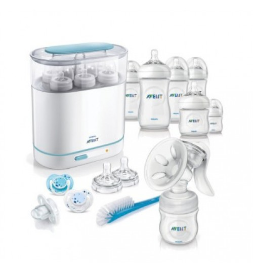 Philips Avent Complete Natural Starter Set With Breast pump