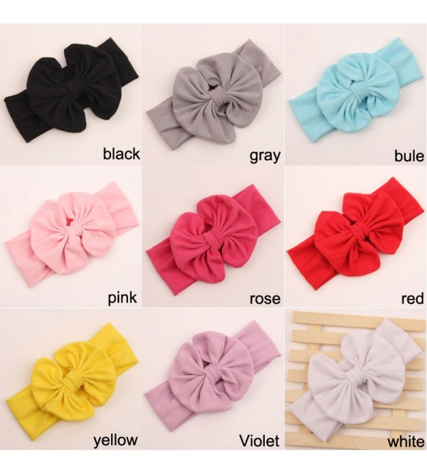 Infant And Toddler Girls 9 Pack Fashion Headbands