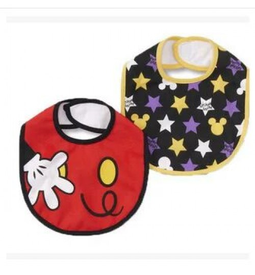 Mickey Mouse 2 Pack Bibs