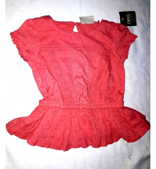 Next Litle Girls Peplum Top