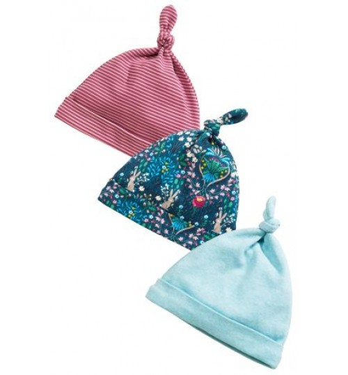 Next Bunny  Tie Top 3 Pack Hats
