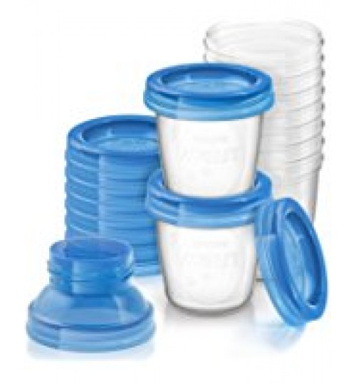 Philips AVENT Breast Milk Storage Cups (Pack Of 10)