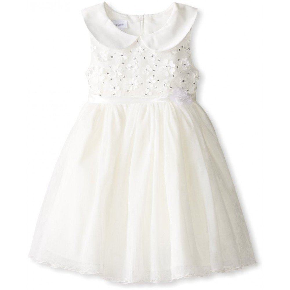 Bonnie Jean Little Girls' Daisy Sequin Bonaz Dress