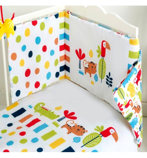 Red Kite 4 Piece Safari Cosi Cot / CotBed Bedding Set
