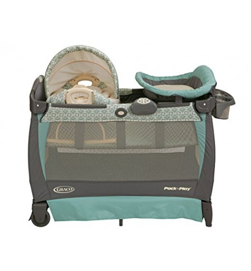 Graco Pack 'n Play with Cuddle Cove Rocking Seat, Winslet