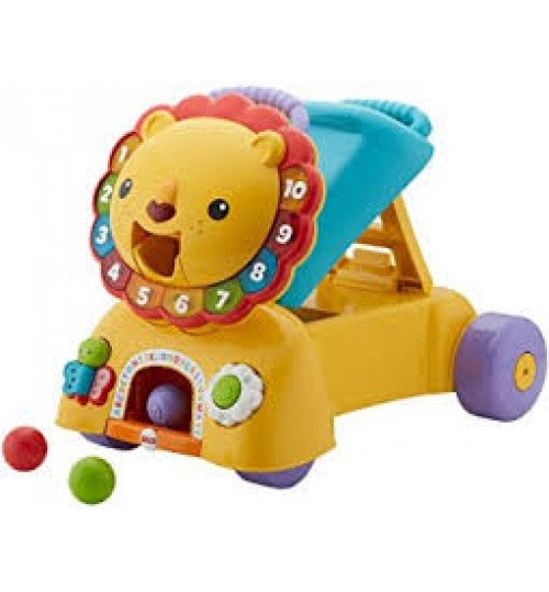Fisher-Price 3-in-1 Sit, Stride & Ride Lion Toy