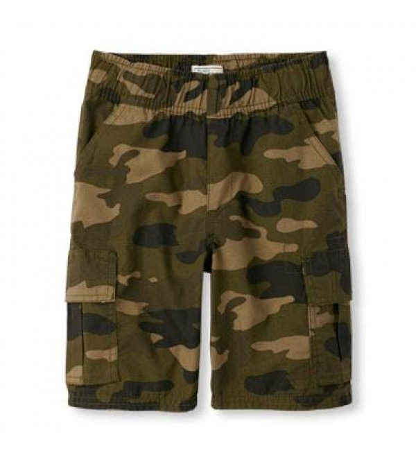 Children Place Boys Woven Cargo Shorts - Husky