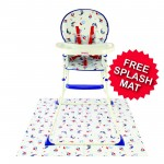 Red Kite Feed Me Compact Baby Highchair - Ship Ahoy