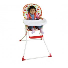 Red Kite Feed Me Compact Highchair Tutti Frutti with Free Splash Mat