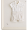 Mothercare Mock Shirt and Shorts Romper