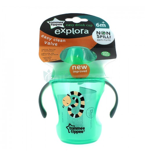 Tommee Tippee - Explora Easy Drink 6m+ Cup- Aqua