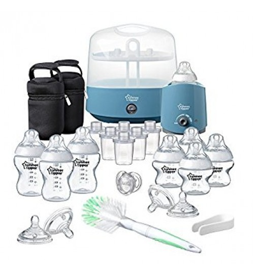 Tommee Tippee Closer To Nature Complete Feeding Kit - Blue