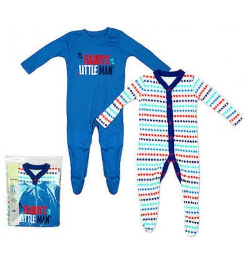 F&F 2 Pack Sleepsuits
