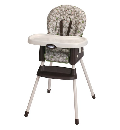 Graco Simpleswitch Portable High Chair and Booster, Zuba