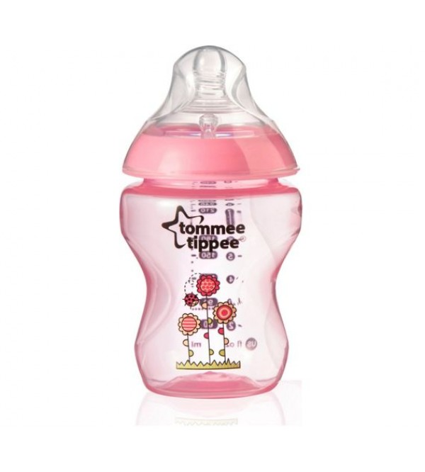 Tommee Tippee Closer to Nature 1x 250ml bottle Pink