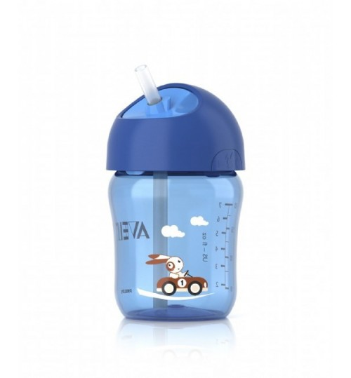Philips Avent 200ml Cup with Straw 12m+ Blue
