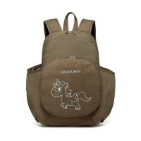 Colorland Diaper Backpack, Brown