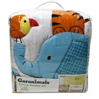 Garanimals 3 Piece Nursery Set