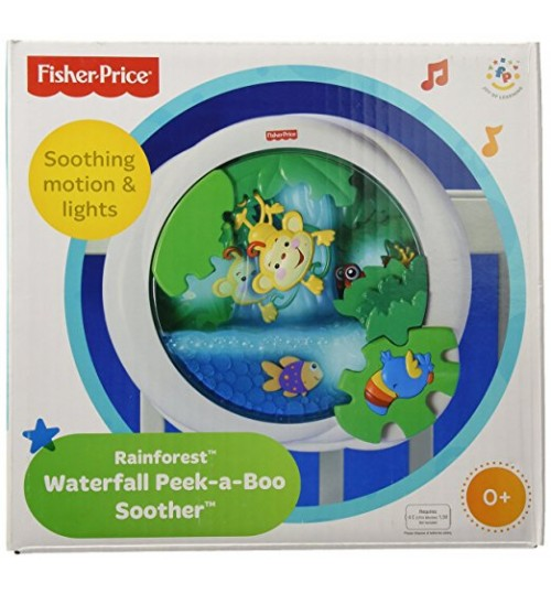 Fisher-Price Rainforest Peek-a-Boo Soother, Waterfall