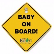 Baby Bean Baby On Board Sign