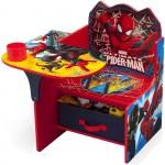 Delta Children Chair Desk With Storage,Spider Man