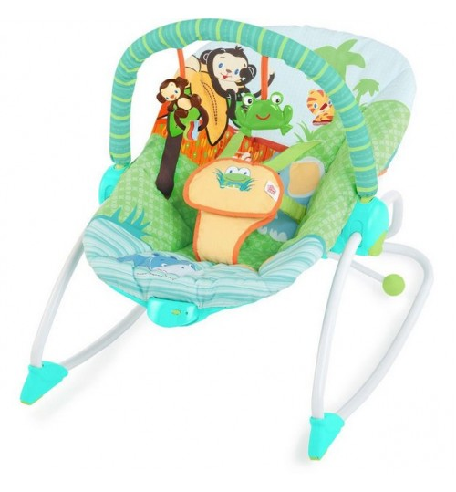Bright Starts Peek-A-Zoo Baby Rocker