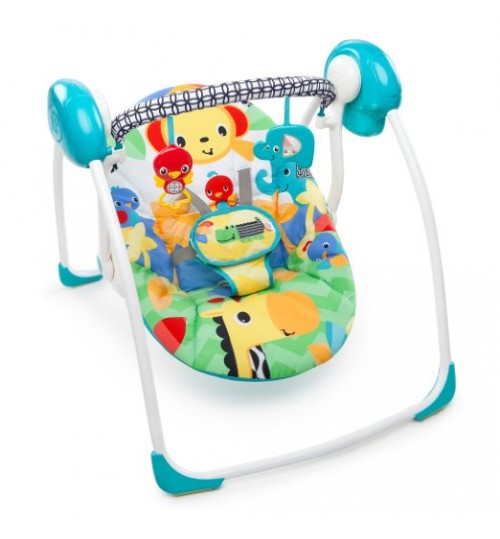 Bright Starts Portable Swing, Safari Smiles
