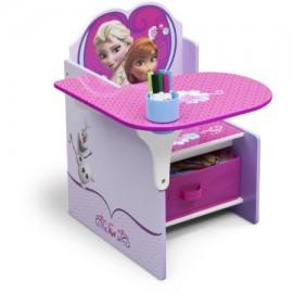 Delta Children Frozen Chair Desk with Storage Bin