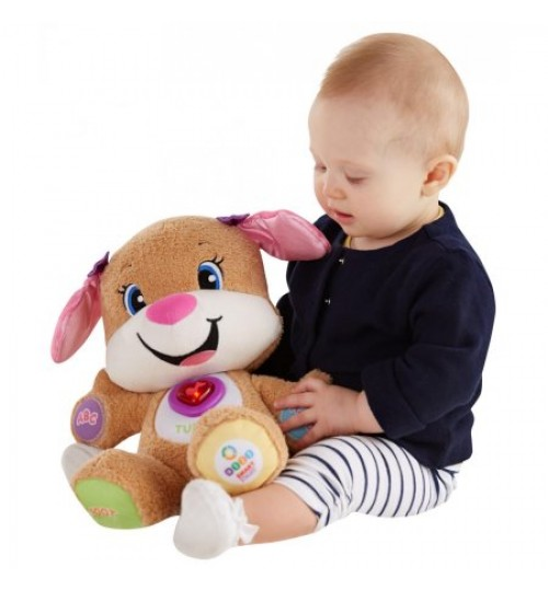 Fisher-Price Smart Stages Laugh And Learn Puppy Pink