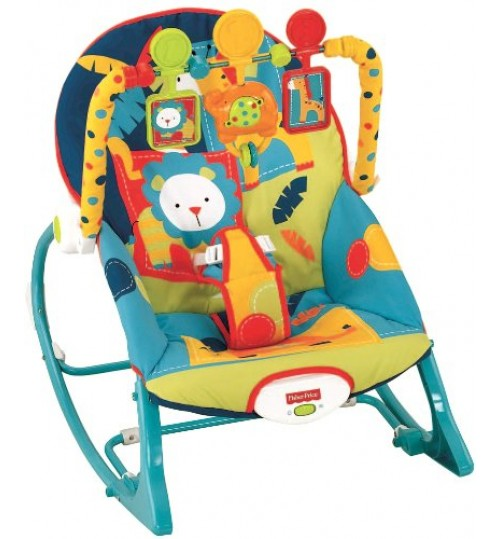Fisher-Price Infant to Toddler Rocker , Dark Safari
