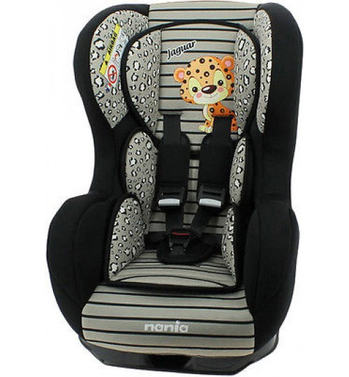 Nania Car Seat (Birth - 4 Years), Jaguar
