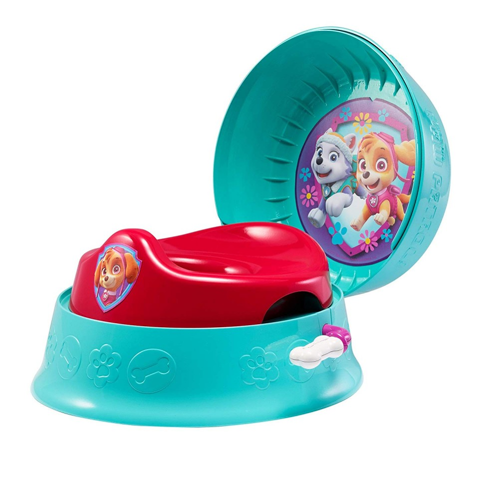 The First Years 3-in-1 Potty Trainer System, Nickelodeon Paw Patrol, Skye