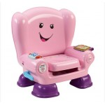 Fisher-Price Laugh and Learn Smart Stages Chair,Pink