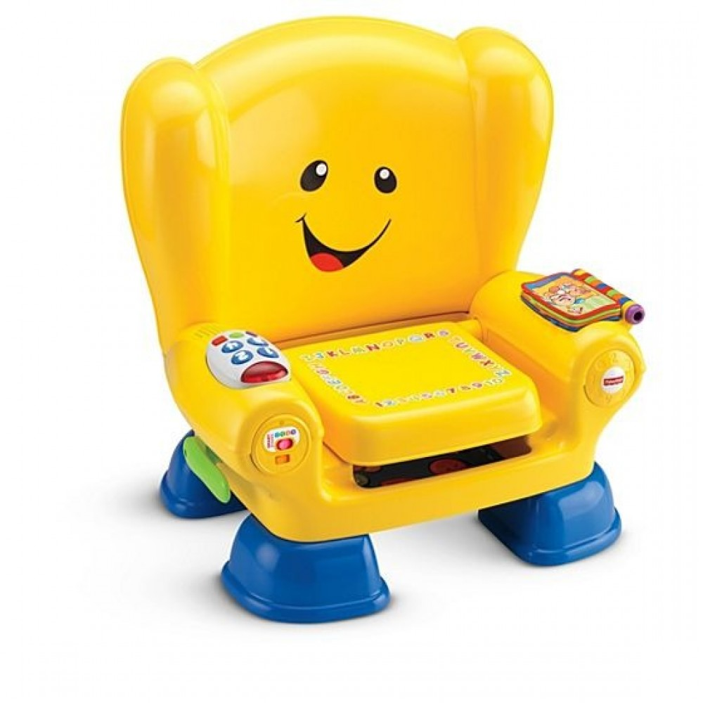 Fisher-Price Laugh and Learn Smart Stages Chair,Yellow