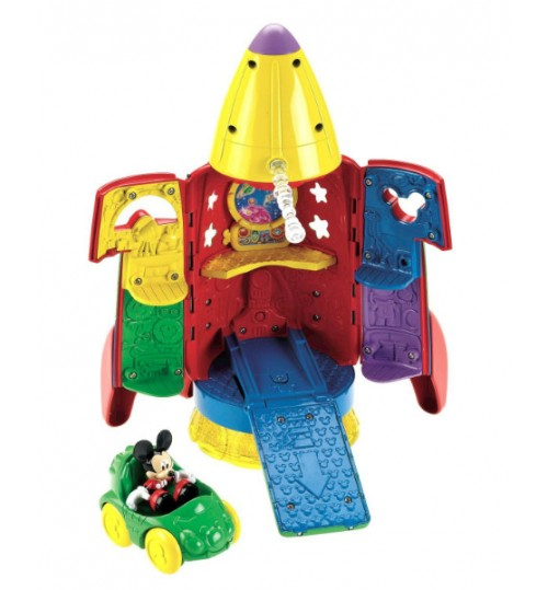Fisher-Price Mickey Mouse Space Rocket