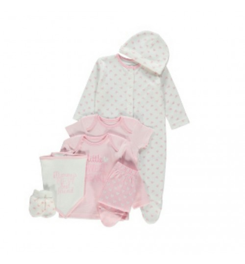 Baby Girl 7 Piece Starter Set