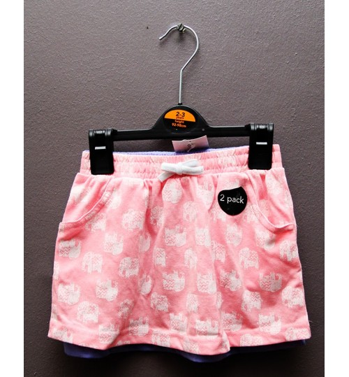 Girls 2 pack Shorts