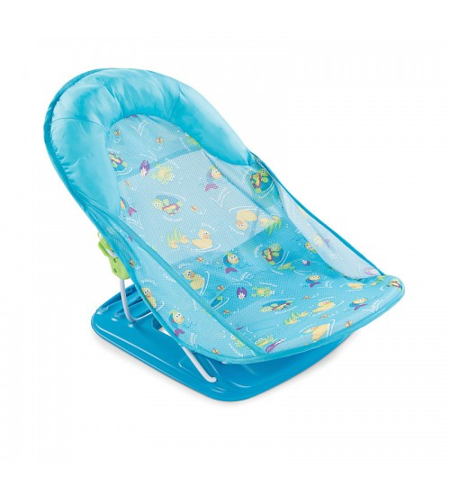 Summer Infant Deluxe Baby Bather - Blue Splish Splash