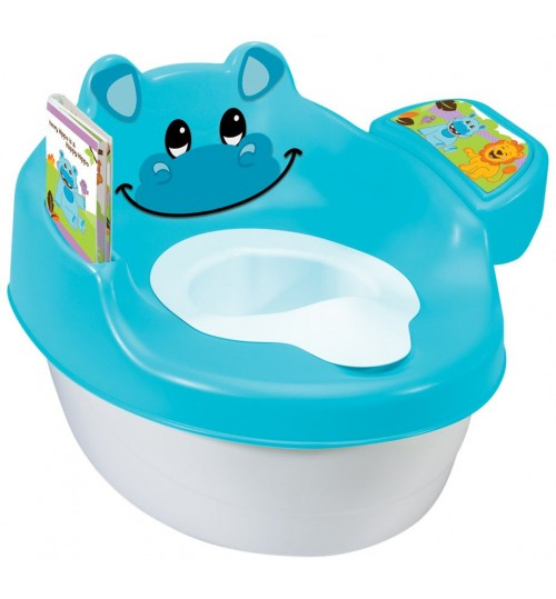 Summer Infant 3-in-1 Potty, Hippo Tales