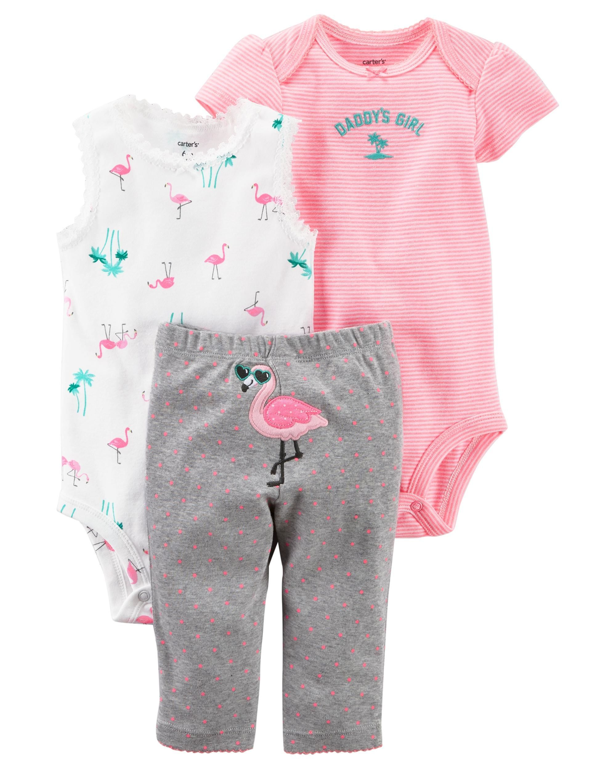 6e5ee502d Carter's 3-Piece Little Character Set, Daddy's Girl